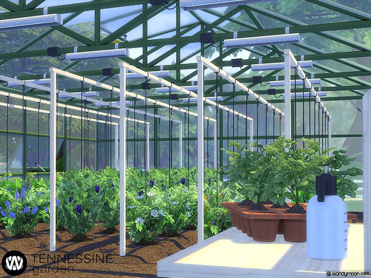 Tennessine Garden Sims 4 CC