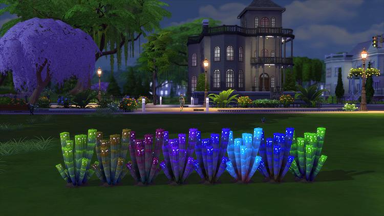 Rainbow Orb Plant Sims 4 CC