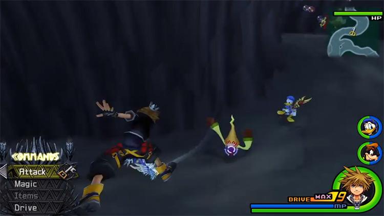 Tornado Step Heartless in Olympus Underworld / KH 2.5 HD