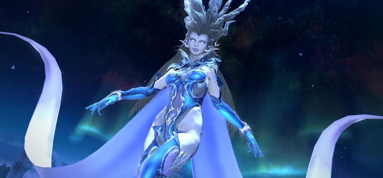 Shiva Primal Screenshot from FFXIV HD