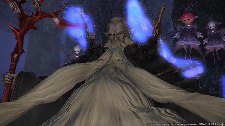 Ramuh Primal Boss Preview Screenshot / FFXIV