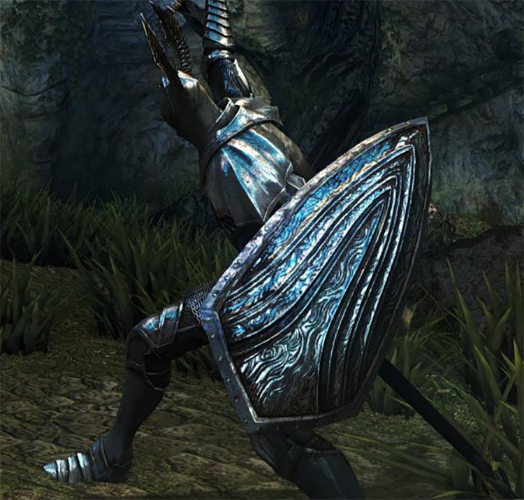 Dark Souls Remastered Silver Knight Shield screenshot