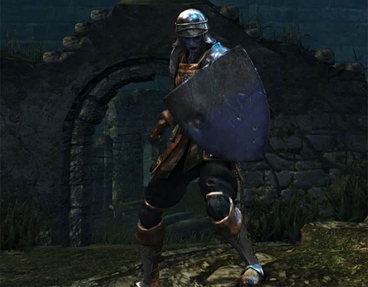 Dark Souls Remastered Heater Shield screenshot
