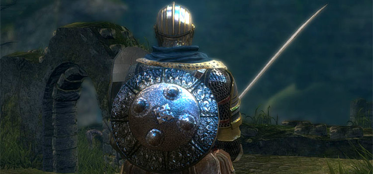 Target Shield Retextured for Dark Souls Remastered