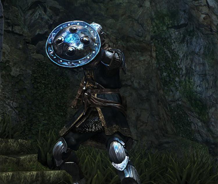 Dark Souls Remastered Target Shield screenshot
