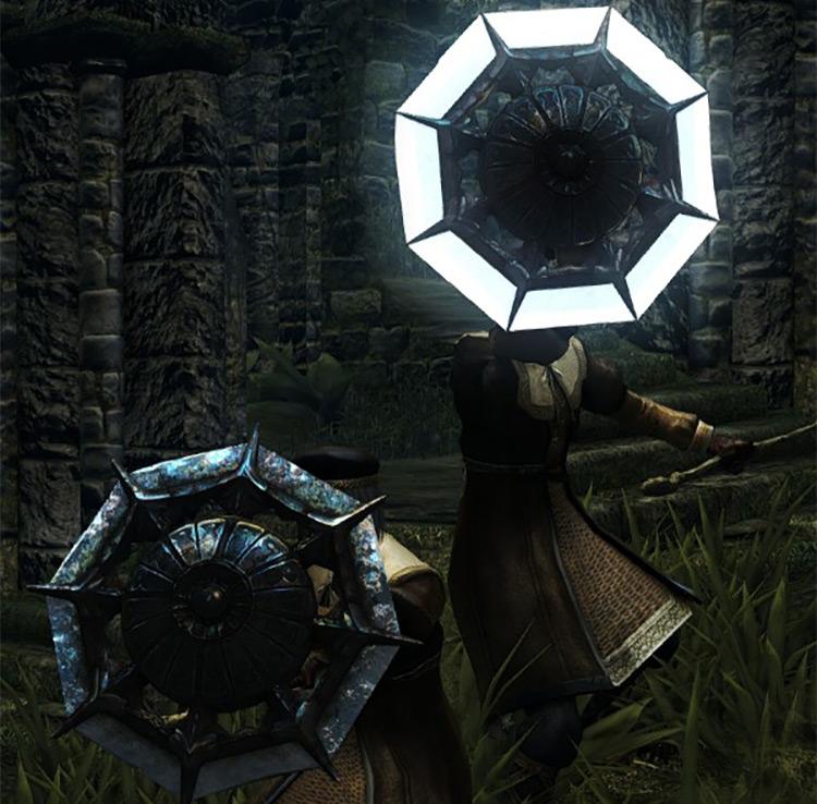 Dark Souls Remastered Crystal Ring Shield screenshot