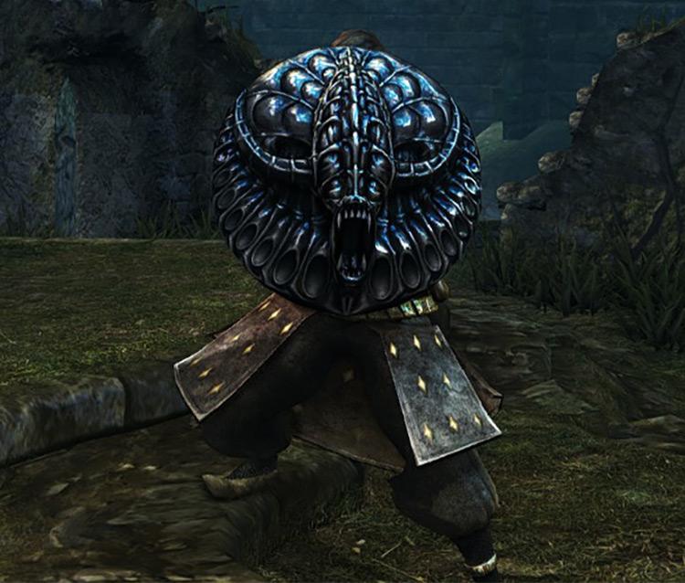Dark Souls Remastered Effigy Shield screenshot