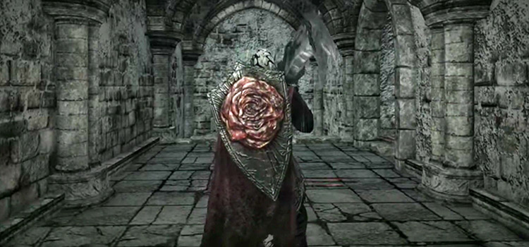 DS2 Blossom Kite Shield in-game screenshot