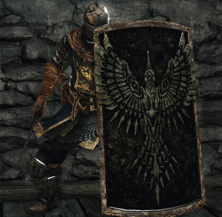 Dark Souls 2 Old Knight's Shield screenshot
