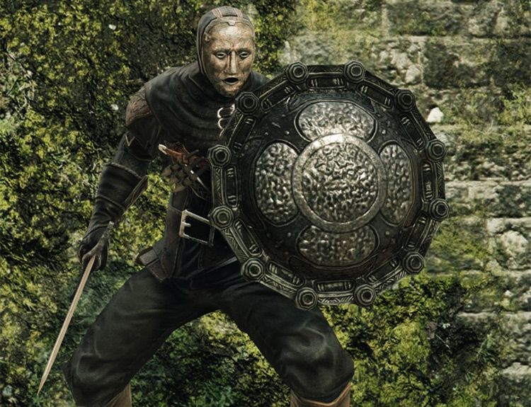 Dark Souls 2 Drakekeeper's Shield screenshot