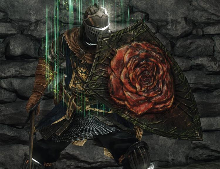 Dark Souls 2 Blossom Kite Shield screenshot