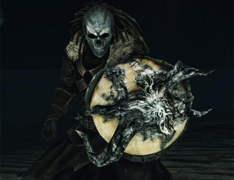 Dark Souls 2 Transgressor's Leather Shield screenshot