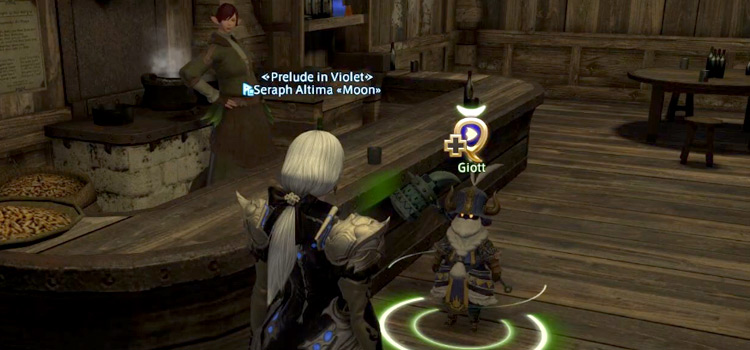 Role Quest with Giott (Healers) in FFXIV