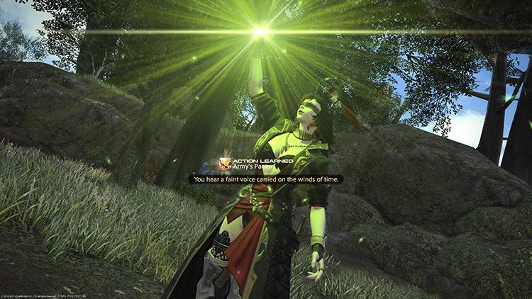 Completing a role quest / FFXIV HD Screenshot