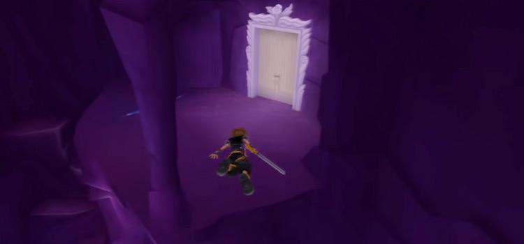 Sora Gliding in KH2.5 HD inside Cavern Of Remembrance