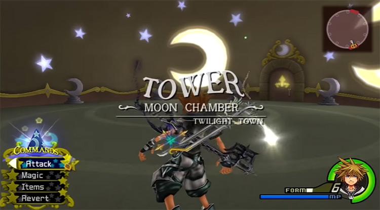 Grinding Final Form in Yen Cid Tower 'Moonlight Chamber' / KH 2.5 HD