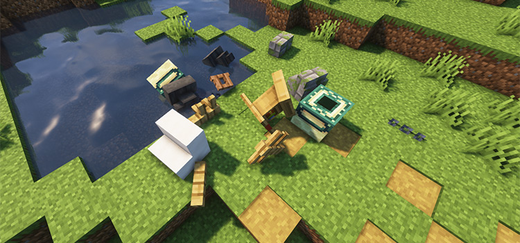 Minecraft Physics Mod Environment Preview