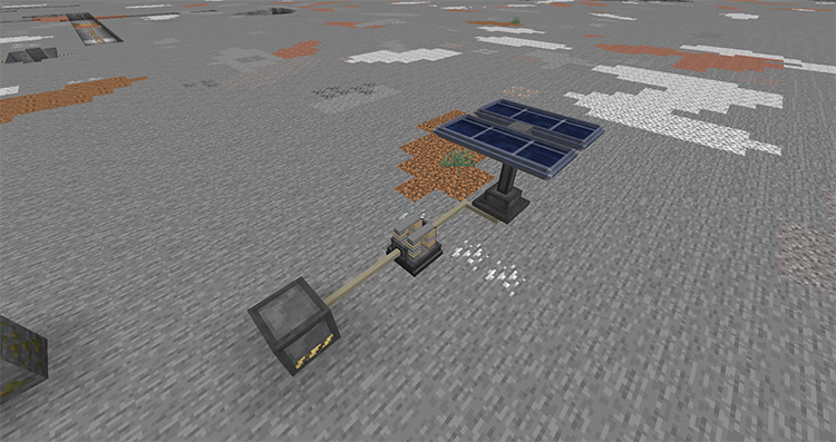 Ampz mod for Minecraft