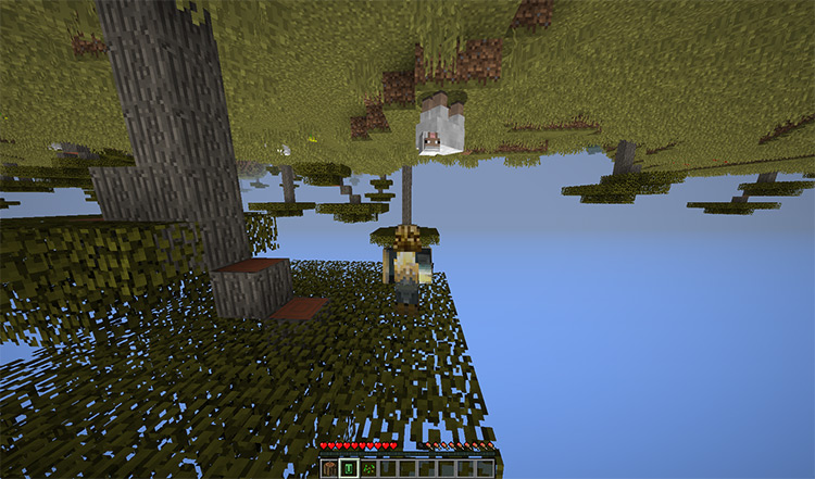Up And Down And All Around mod for Minecraft