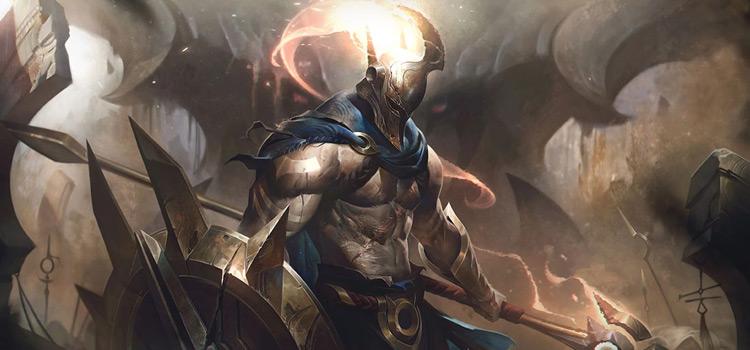 Default Pantheon Skin Splash / Credit Riot Games