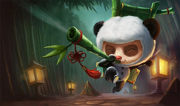 Panda Teemo Skin Splash / LoL
