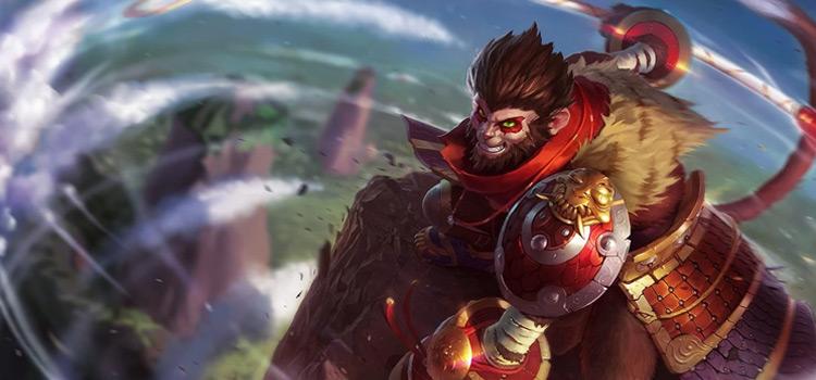 Default Wukong Skin Splash / Credit Riot Games