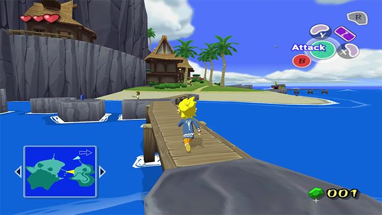 The Legend of Zelda: The Wind Waker GCN screenshot