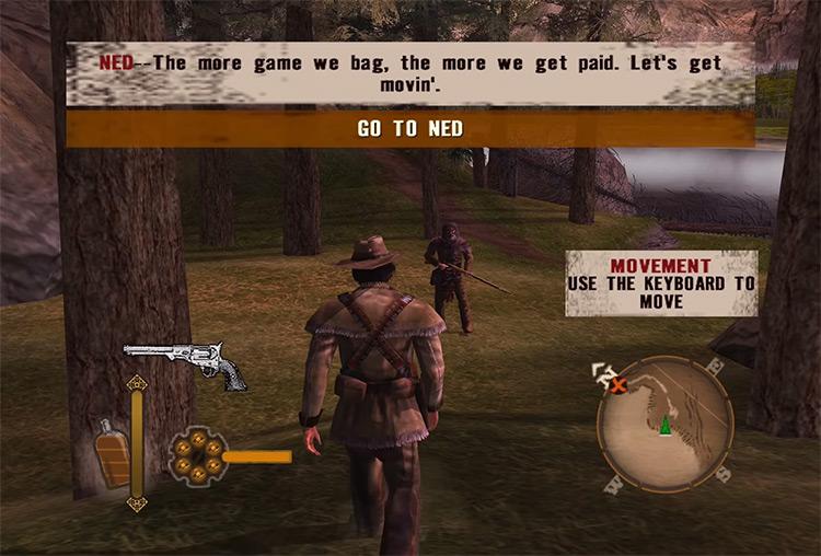 GUN GCN gameplay screenshot