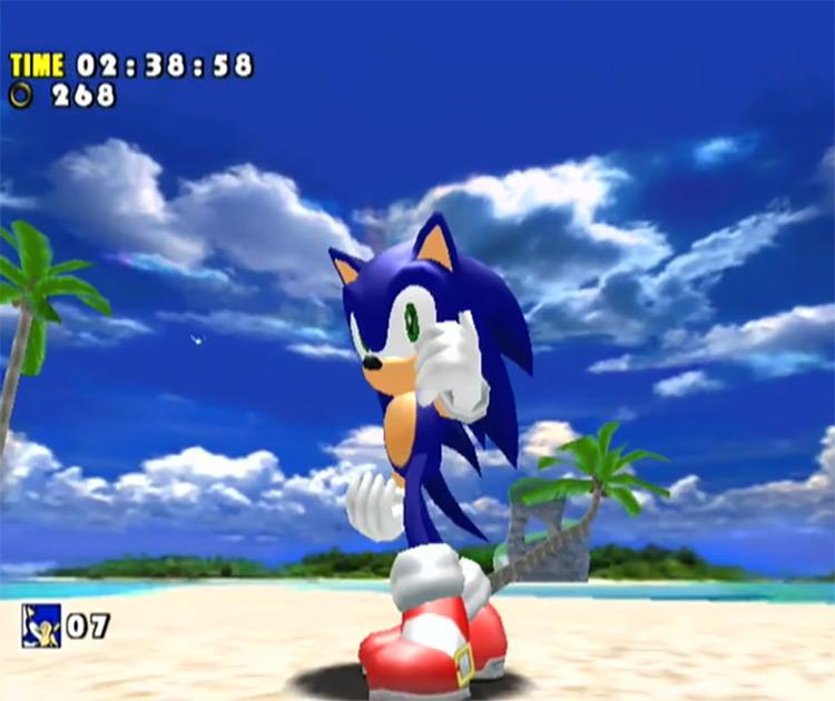 Sonic Adventure DX: Director's Cut screenshot