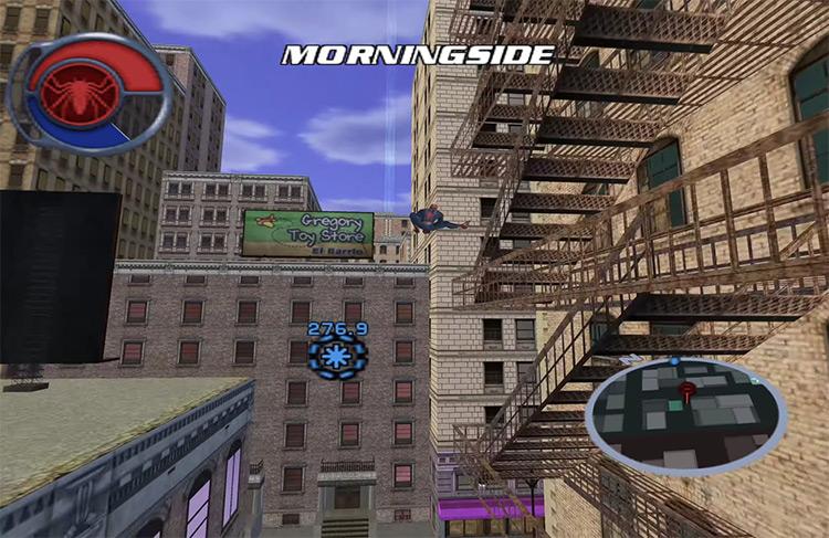 Spider-Man 2 GCN gameplay screenshot
