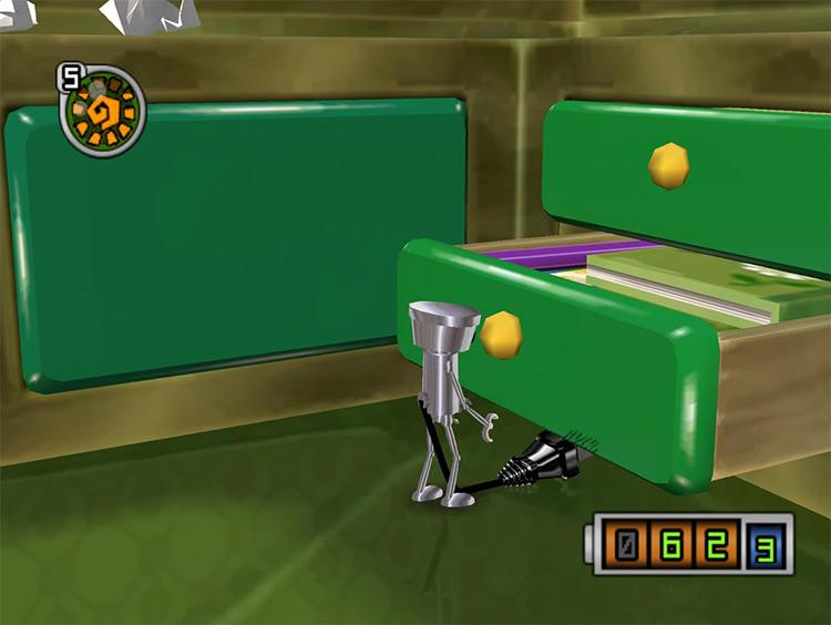 Chibi-Robo gameplay screenshot