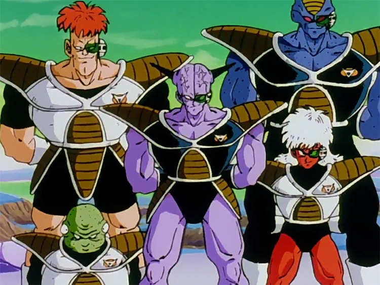 Ginyu Force from Dragon Ball
