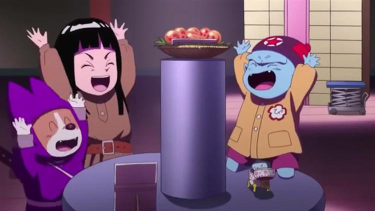 Emperor Pilaf, Mai & Shu from Dragon Ball