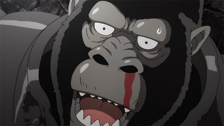 Armored Gorilla from One Punch Man
