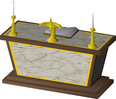 Gilded Altar House Upgrade in OSRS