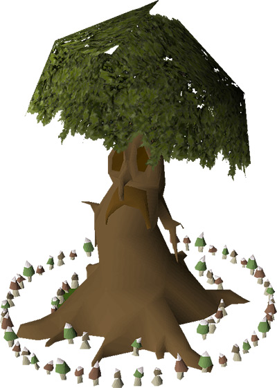 Spirit Tree & Fairy Ring House Upgrade in OSRS