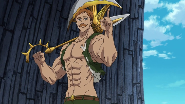 Escanor from The Seven Deadly Sins screenshot