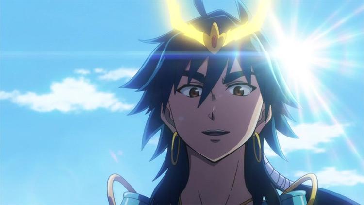 Sinbad from Magi: The Labyrinth of Magic screenshot