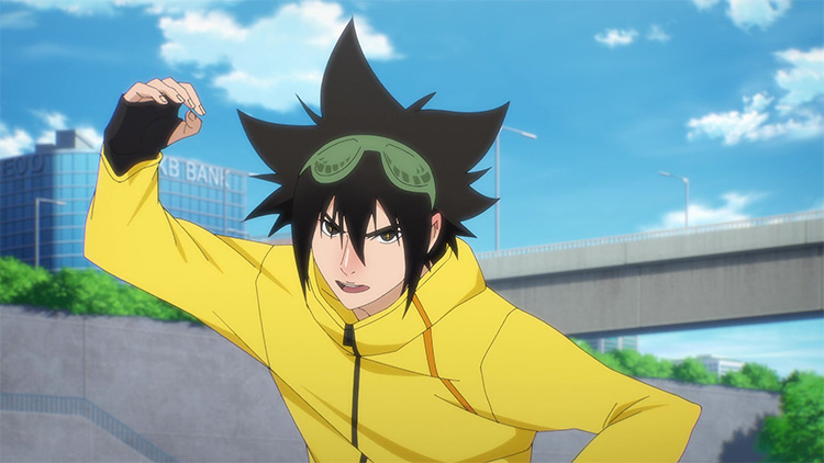 Jin Mori from The God of High School screenshot