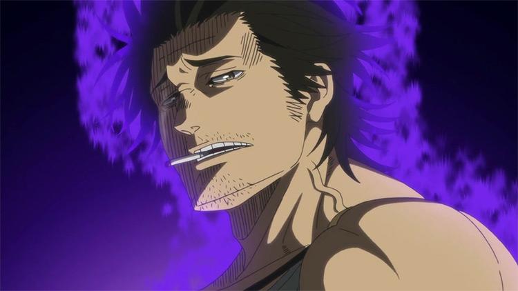 Yami Sukehiro from Black Clover screenshot