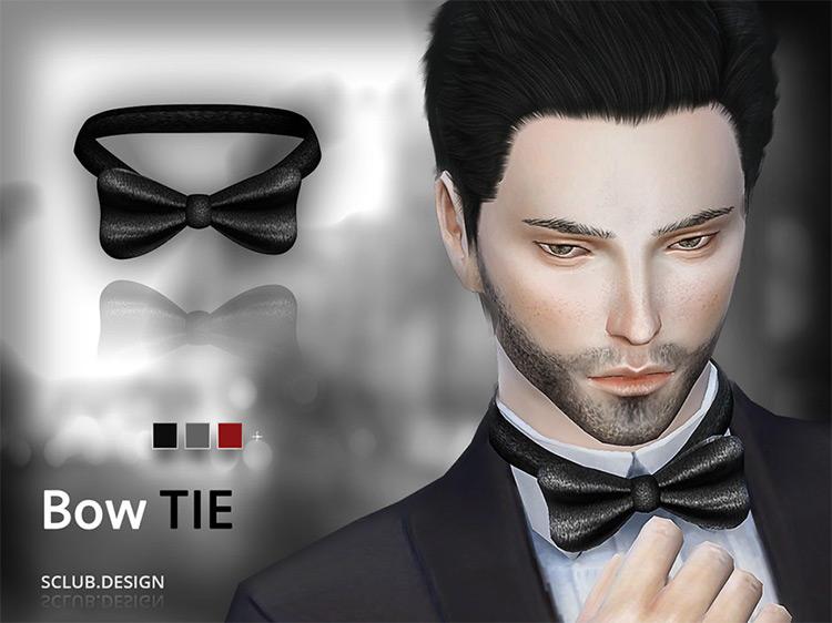 S-Club MK TS4 Bow Tie / Sims 4 CC