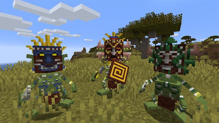 Mowzie's Mobs Minecraft mod