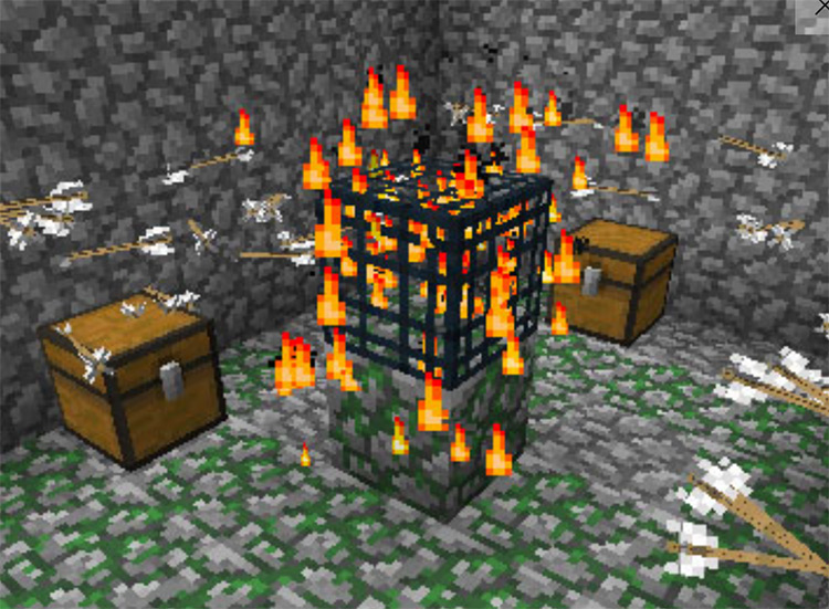 Deadly World Minecraft mod preview