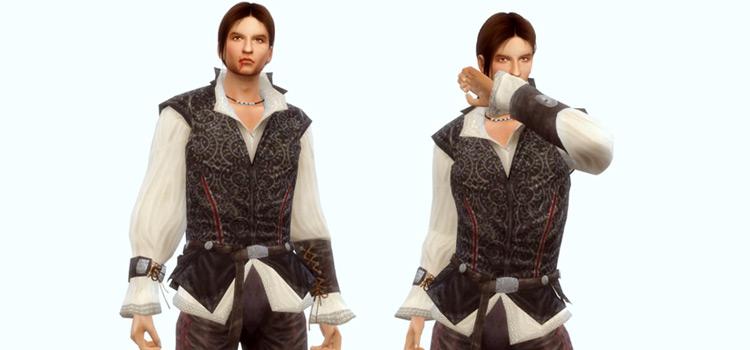 Assassins Creed Ezio Outfit Preview / Sims 4 CC Set