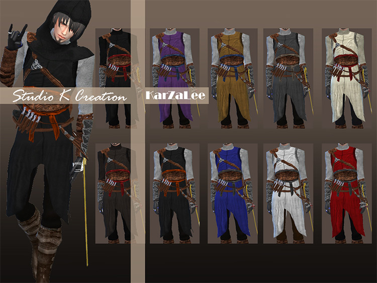Assassin's Creed - Altaïr CC for The Sims 4