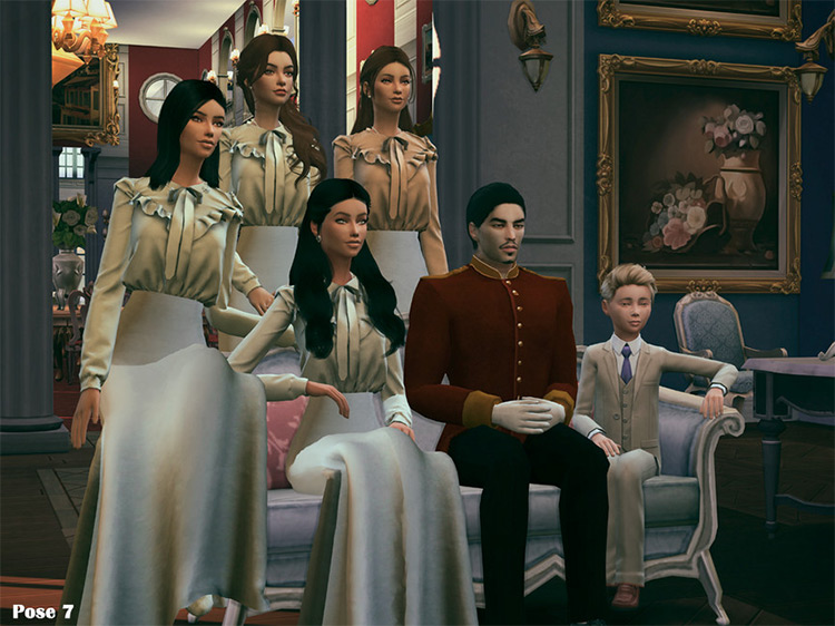 Imperial Dynasty Pose Pack by Beto_ae0 TS4 CC