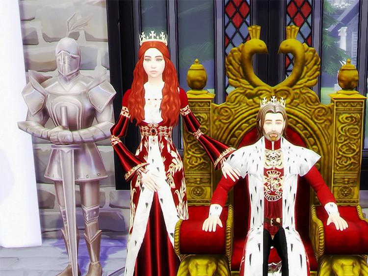 Historical Poses by Atashi77 Sims 4 CC