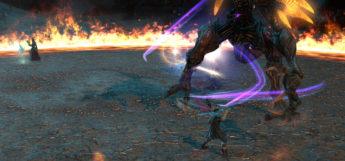 Raid vs Trial - Boss Battle in FFXIV