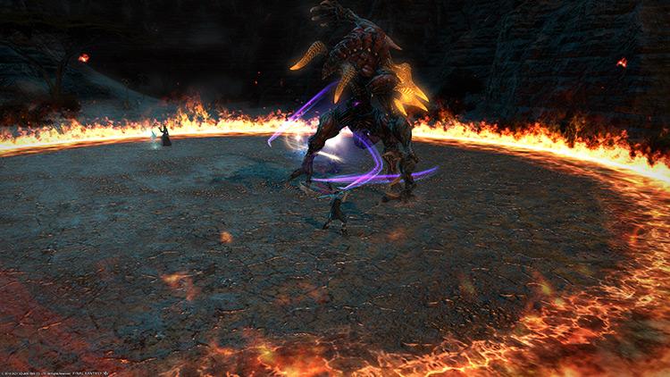 Boss Fight Trial Battle / FFXIV Screenshot