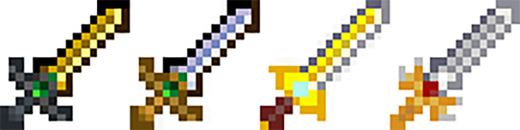 Fire Emblem Weapons Mod for Stardew Valley